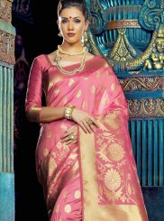 Weaving Art Silk Designer Saree