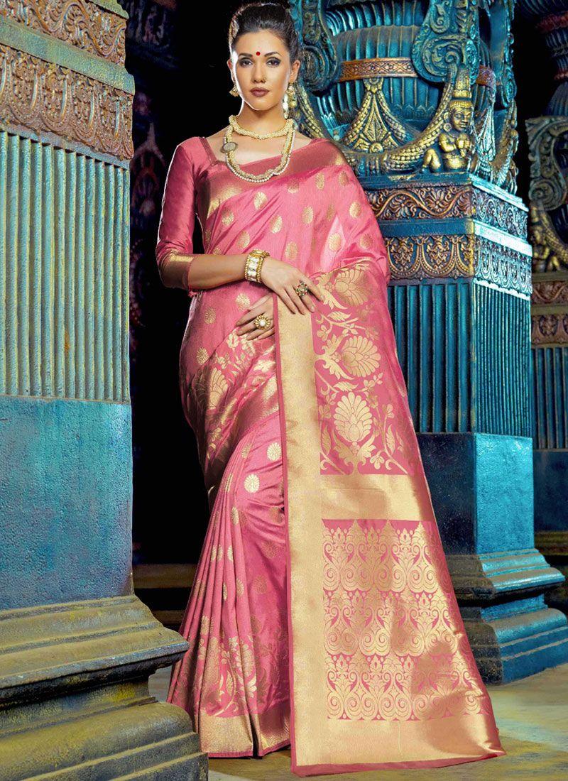 Weaving Art Silk Designer Saree