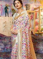 Weaving Art Silk Traditional Designer Saree