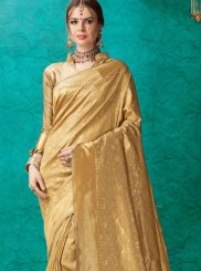 Weaving Banarasi Silk Trendy Saree