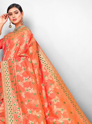 Weaving Bridal Traditional Designer Saree