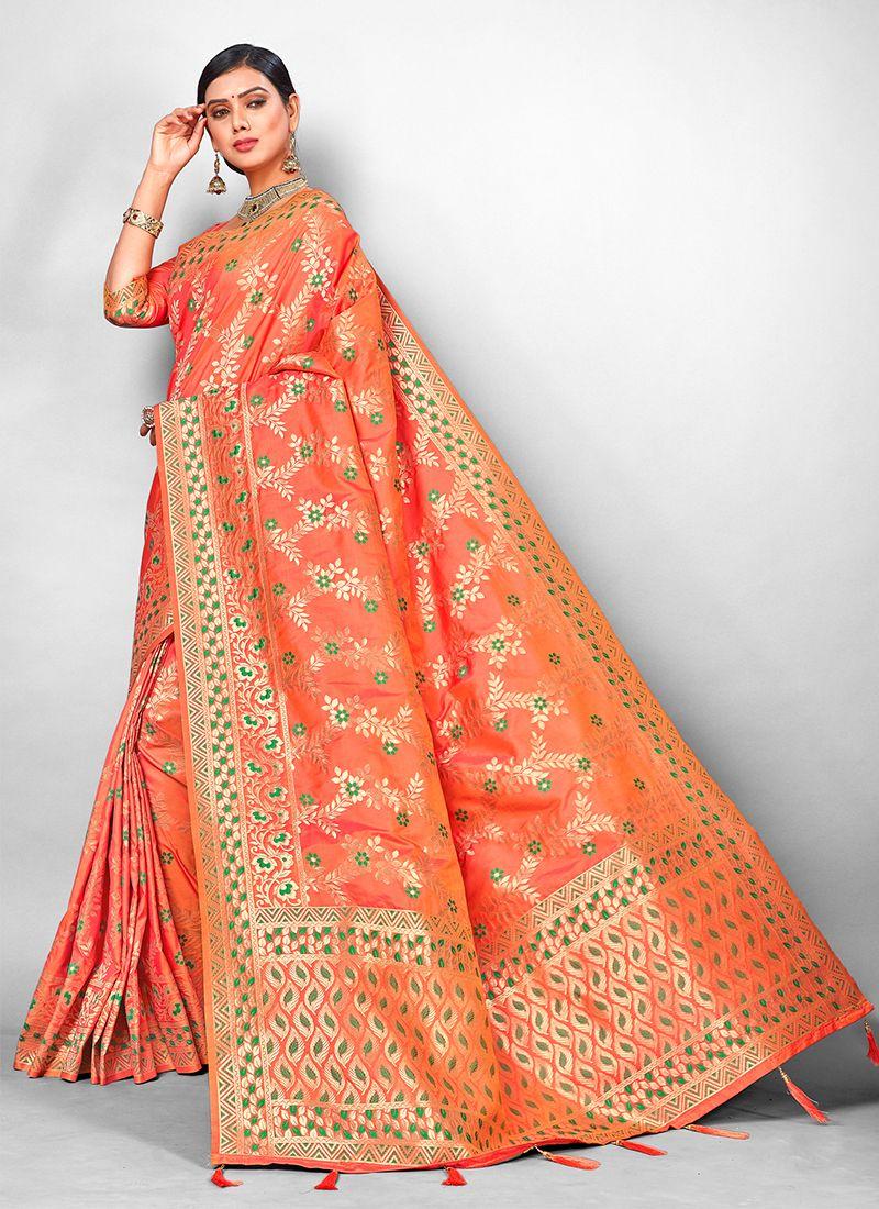 Weaving Bridal Traditional Designer Saree