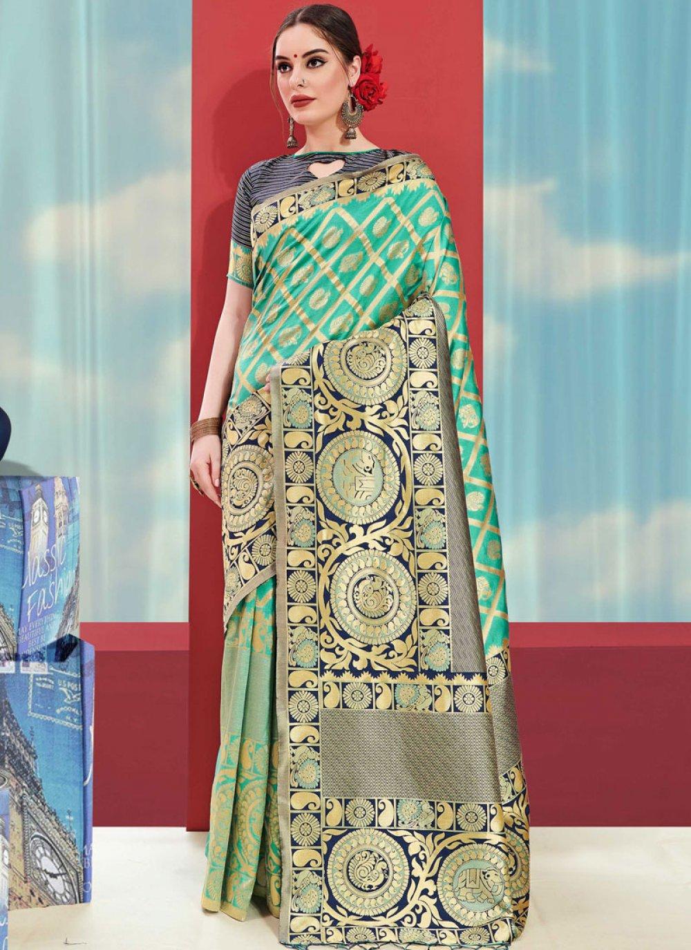 Weaving Casual Saree