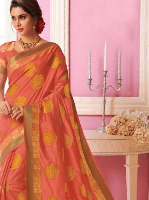 Weaving Ceremonial Designer Traditional Saree