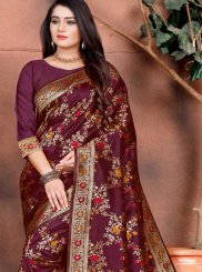 Weaving Ceremonial Traditional Designer Saree