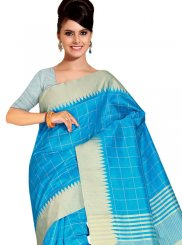 Weaving Cotton Silk Traditional Saree