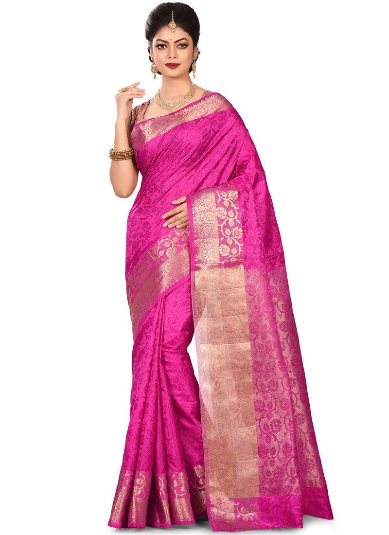 Weaving Designer Traditional Saree