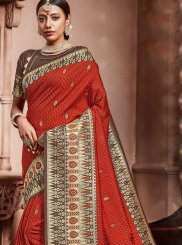 Weaving Designer Traditional Saree