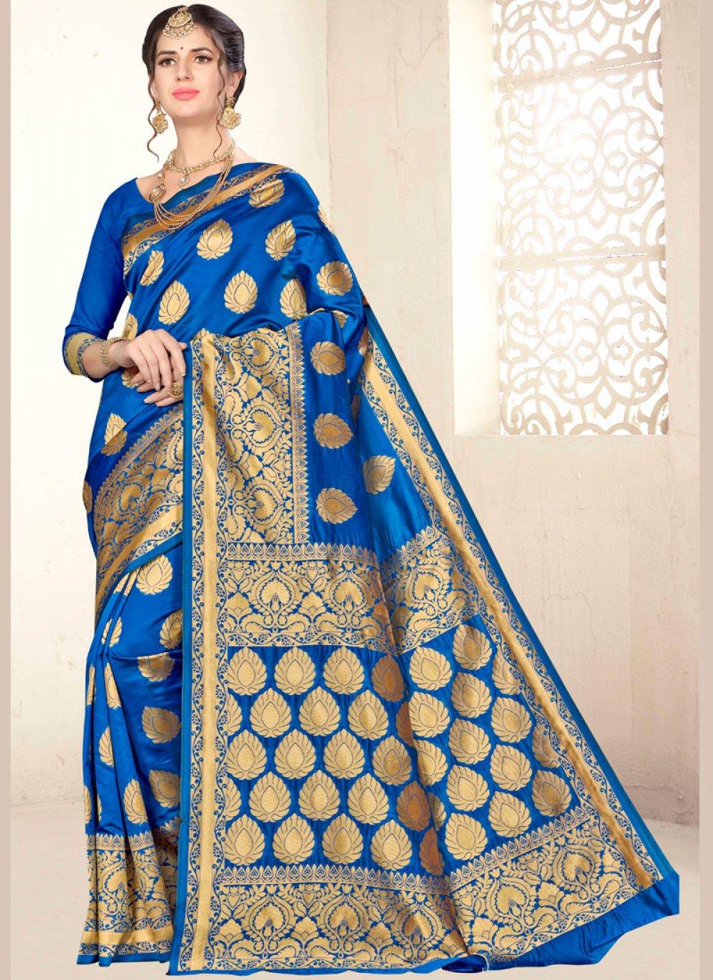 Weaving Festival Designer Traditional Saree