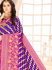 Weaving Festival Half N Half  Saree