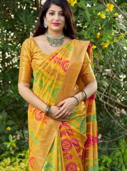 Weaving Festival Traditional Designer Saree