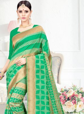 Weaving Festival Traditional Saree