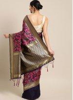 Weaving Multi Colour Art Silk Designer Traditional Saree