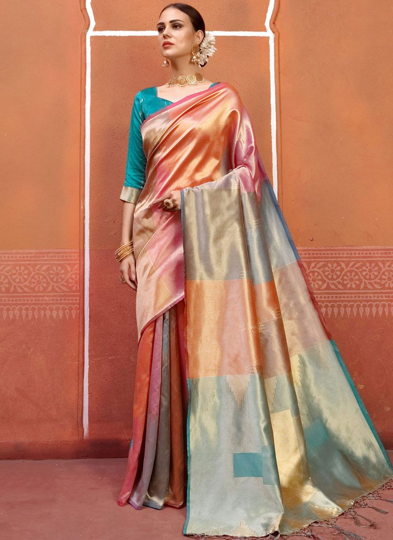 Weaving Party Designer Traditional Saree