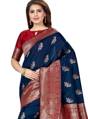 Weaving Party Trendy Saree