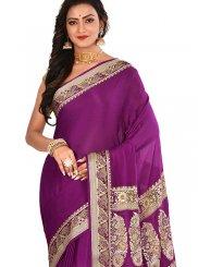 Weaving Rani Art Banarasi Silk Designer Traditional Saree