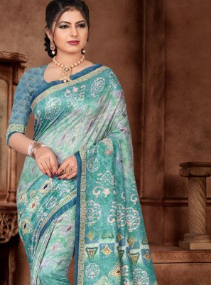 Weaving Reception Silk Saree