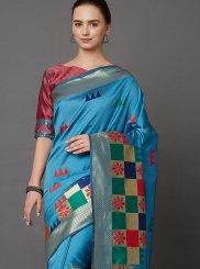 Weaving Silk Classic Designer Saree