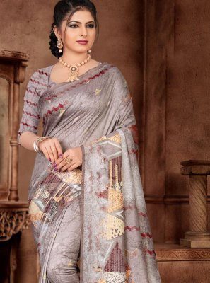 Weaving Silk Silk Saree