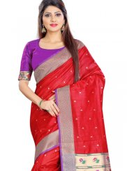 Weaving Silk Trendy Saree
