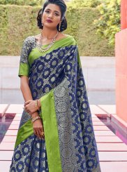 Weaving Traditional Designer Saree