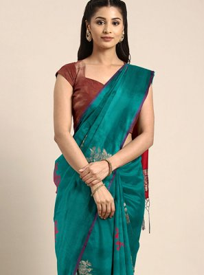 Weaving Traditional Saree