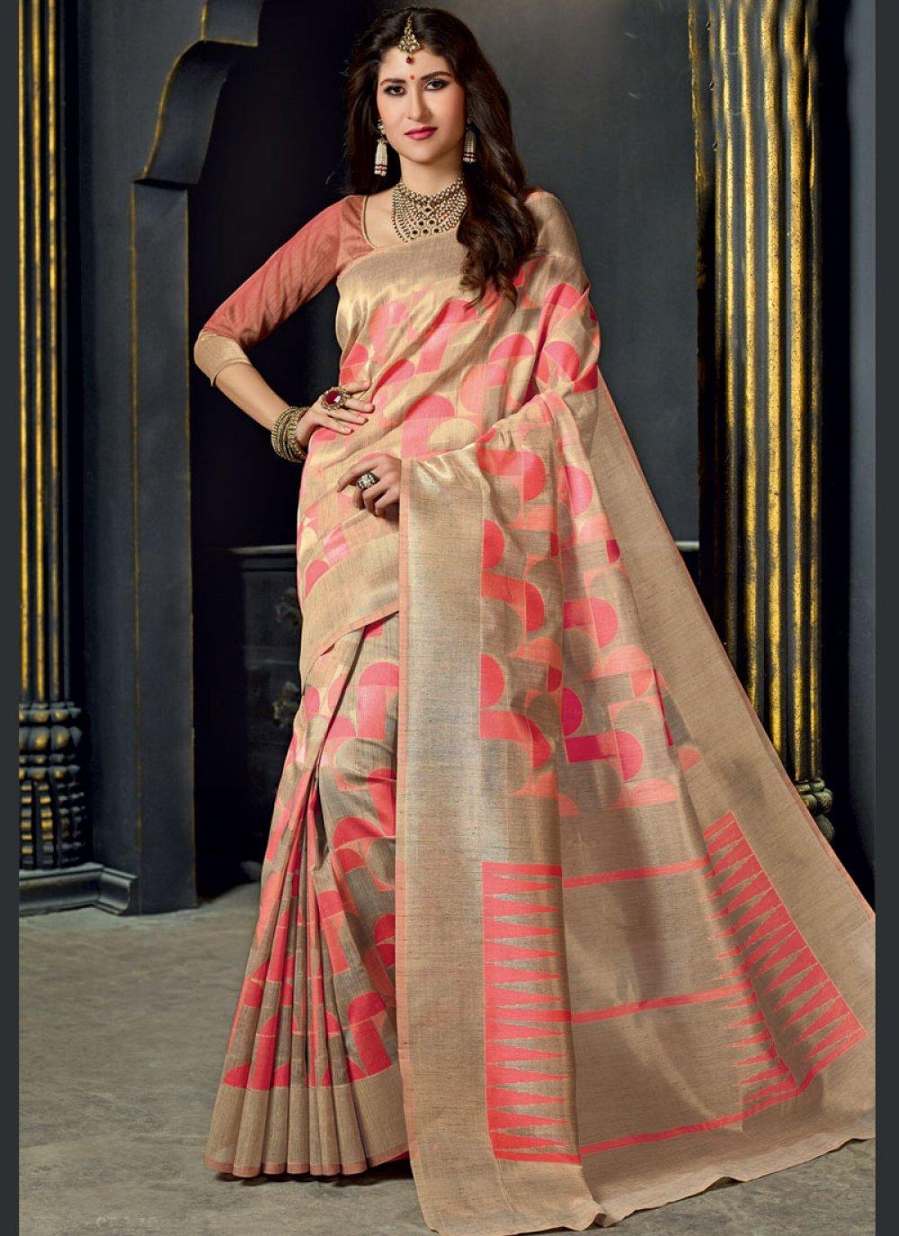 Weaving Wedding Designer Traditional Saree