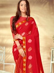 Weight Less Casual Printed Saree