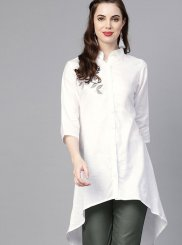 White Casual Party Wear Kurti