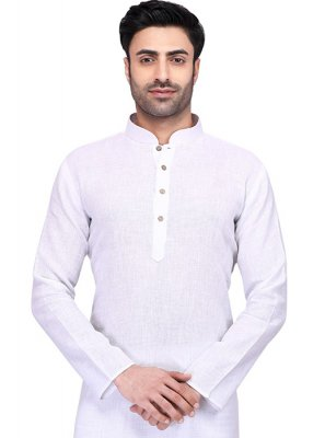 White Ceremonial Kurta