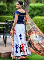 White Wedding Trendy Designer Lehenga Choli