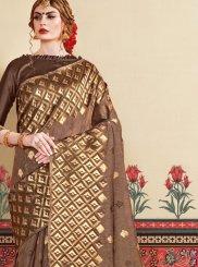 Woven Art Silk Classic Designer Saree