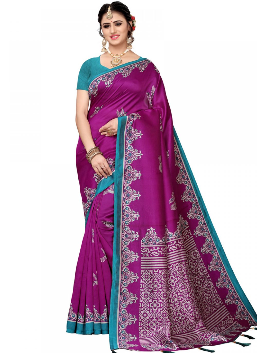Woven Art Silk Traditional Saree