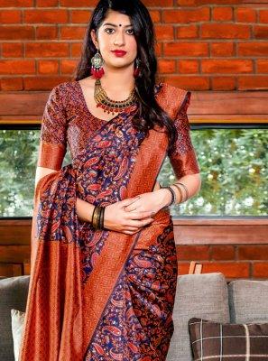 Woven Banarasi Silk Designer Saree