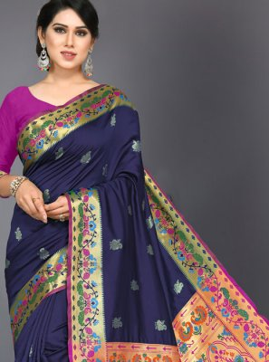 Woven Ceremonial Designer Traditional Saree