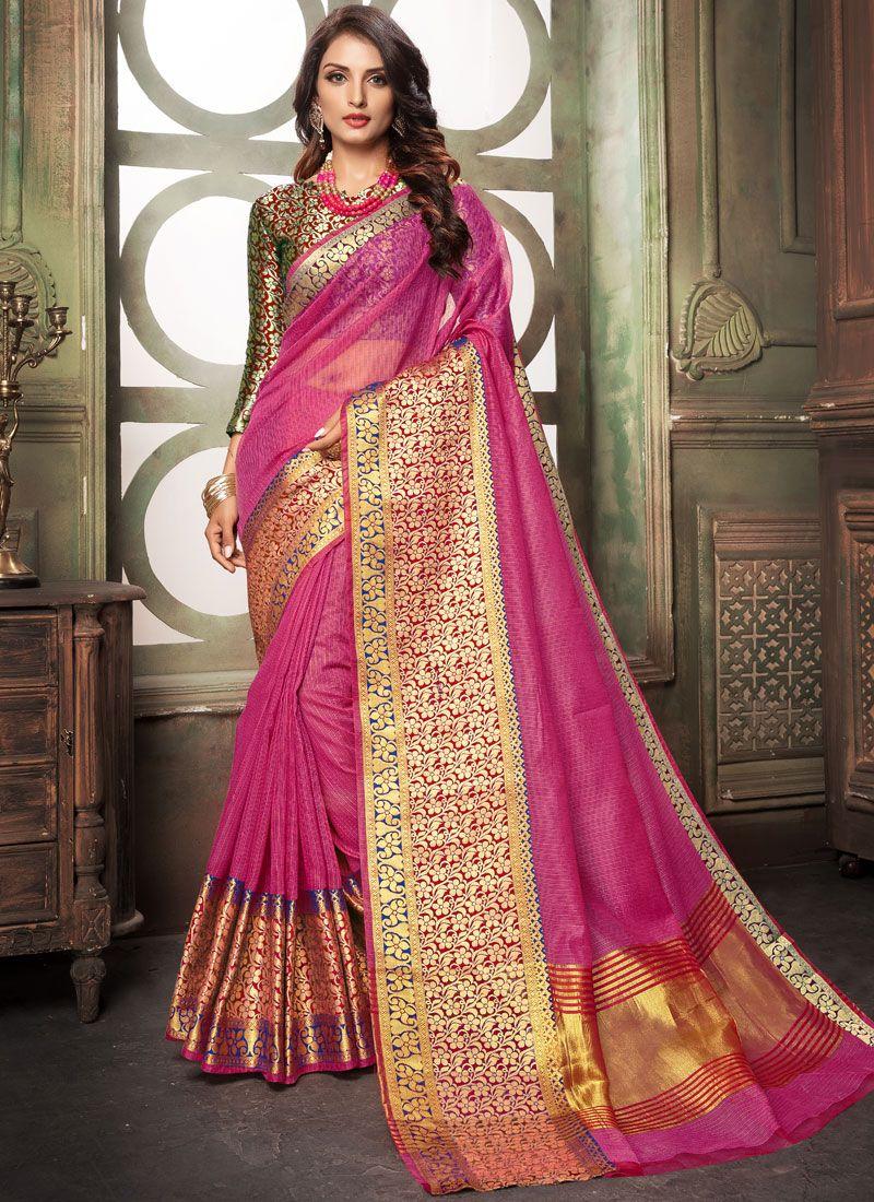 Woven Cotton Saree