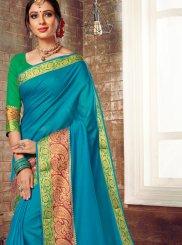 Woven Cotton Silk Traditional Saree