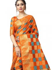 Woven Fancy Fabric Traditional Saree