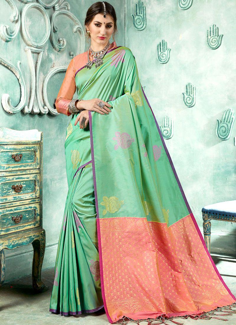 Woven Festival Designer Saree
