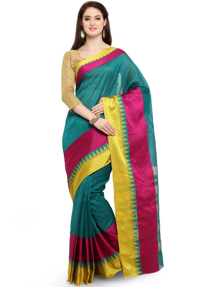Woven Festival Traditional Saree