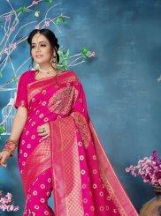 Woven Festival Trendy Saree