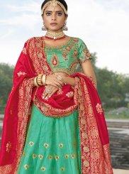 Woven Jacquard Silk Designer Lehenga Choli
