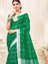 Woven Mehndi Traditional Saree