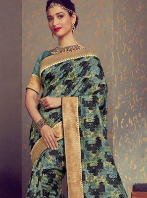 Woven Multi Colour Tamannaah Bhatia Designer Traditional Saree