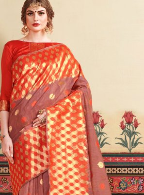 Woven Party Designer Traditional Saree