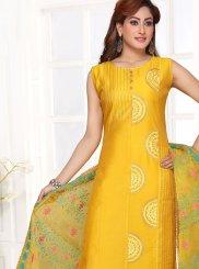 Yellow Ceremonial Designer Suit