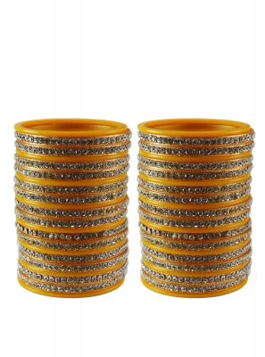 Yellow Color Bangles