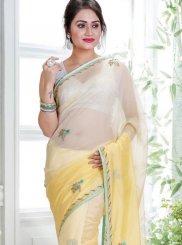 Yellow Shaded Saree