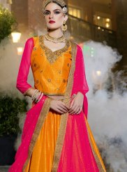 Zari Banglori Silk Trendy Lehenga Choli