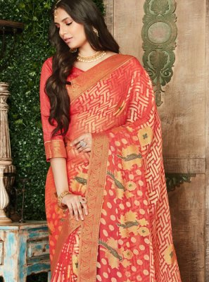 Zari Brasso Traditional Saree